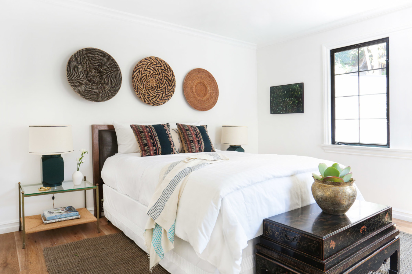 THE TOP 20 WAYS TO STYLE THE END OF YOUR BED ACCORDING TO INTERIOR DESIGNERS -  From Jonathan Adler to Jeremiah Brent, these design experts have thoughts on the matter.BY JONATHAN STEINITZ