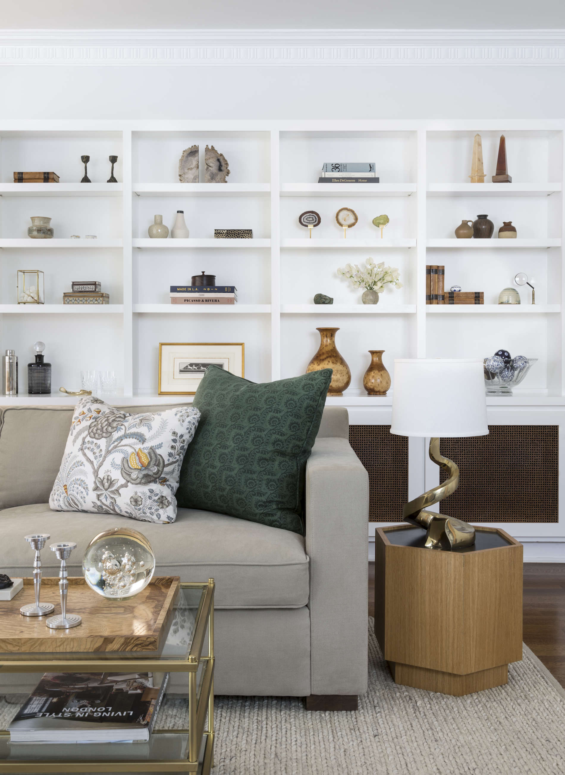 Inside a Los Angeles Home for a Young Couple - For this home, interior designer Stefani Stein of Stefani Stein Inc. was asked to create comfortable spaces with a neutral palette for a young couple expecting their first child.
