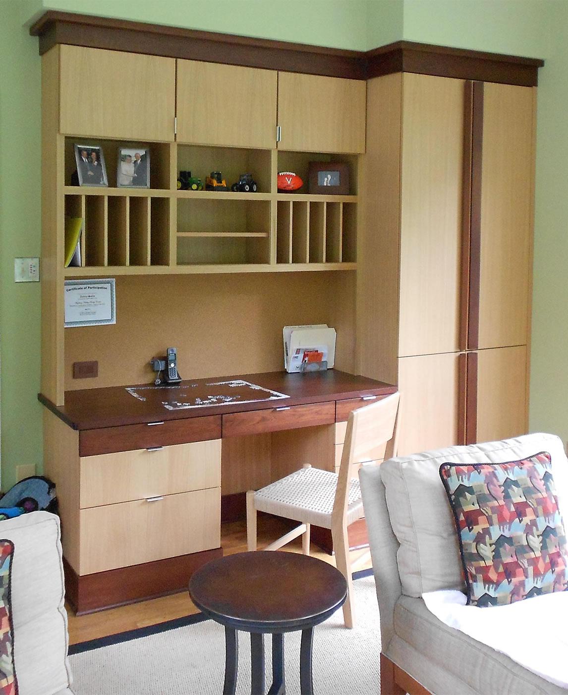 study-desk-with-AV-equpiment-storage-rift-cut-white-oak-and-mahogany.jpg