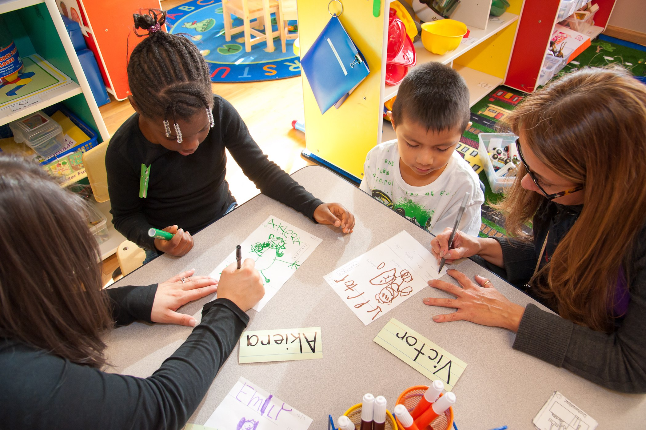 Closing the Achievement Gap starts with    World-class preschool    Learn More