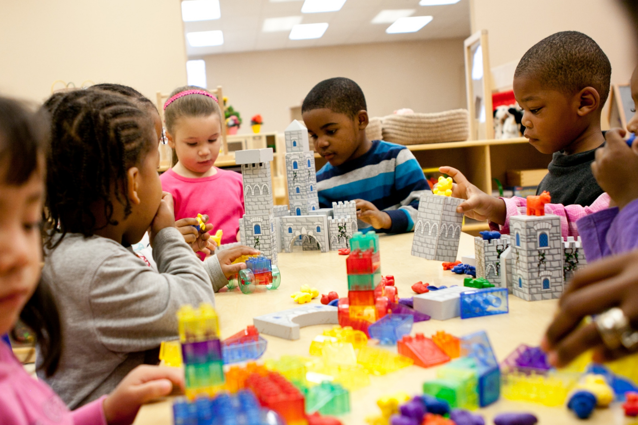 Closing the Achievement Gap starts with    playful learning    Learn More