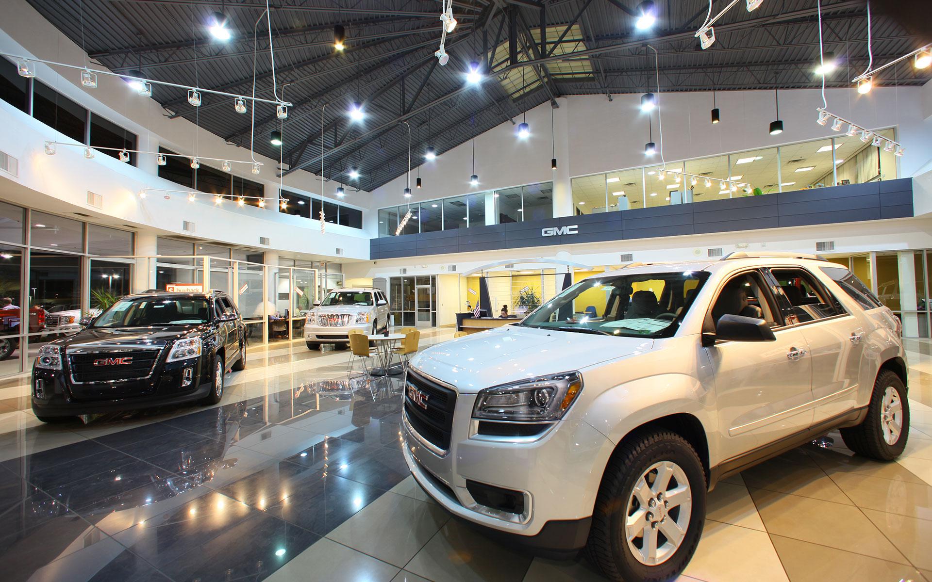 Liberty GMC: Interior