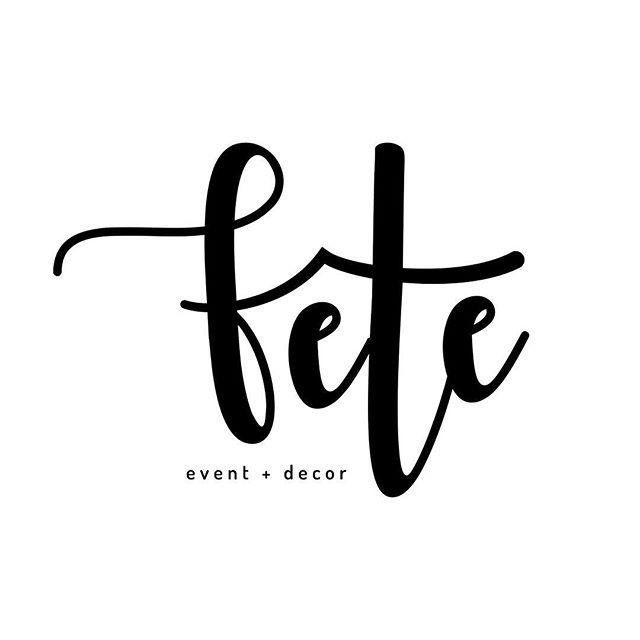 Logo design for @feteeventsanddecor #calgary 🇨🇦 Anybody see the meaning?⠀⠀ .⠀⠀ .⠀⠀ .⠀⠀ .⠀⠀ .⠀⠀ #iistudio #iicreativestudio #graphicdesign #graphics  #design #graphicdesigner #logodesigns #logo #businesscards #websitedesign #illustrator #photoshop #Vancouver #YVR #Vancity #print #printdesign #friday #march #feteeventsanddecor #event #eventdecor #wedding #calgary #albertacanada #party #partydecorations #friyay