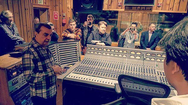 Tony Bongiovi literally explaining how it's done at Berklee Power Station Studio A in NYC