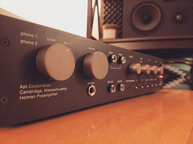 This Apt Holman is easily one of the best phono preamps I've ever heard.