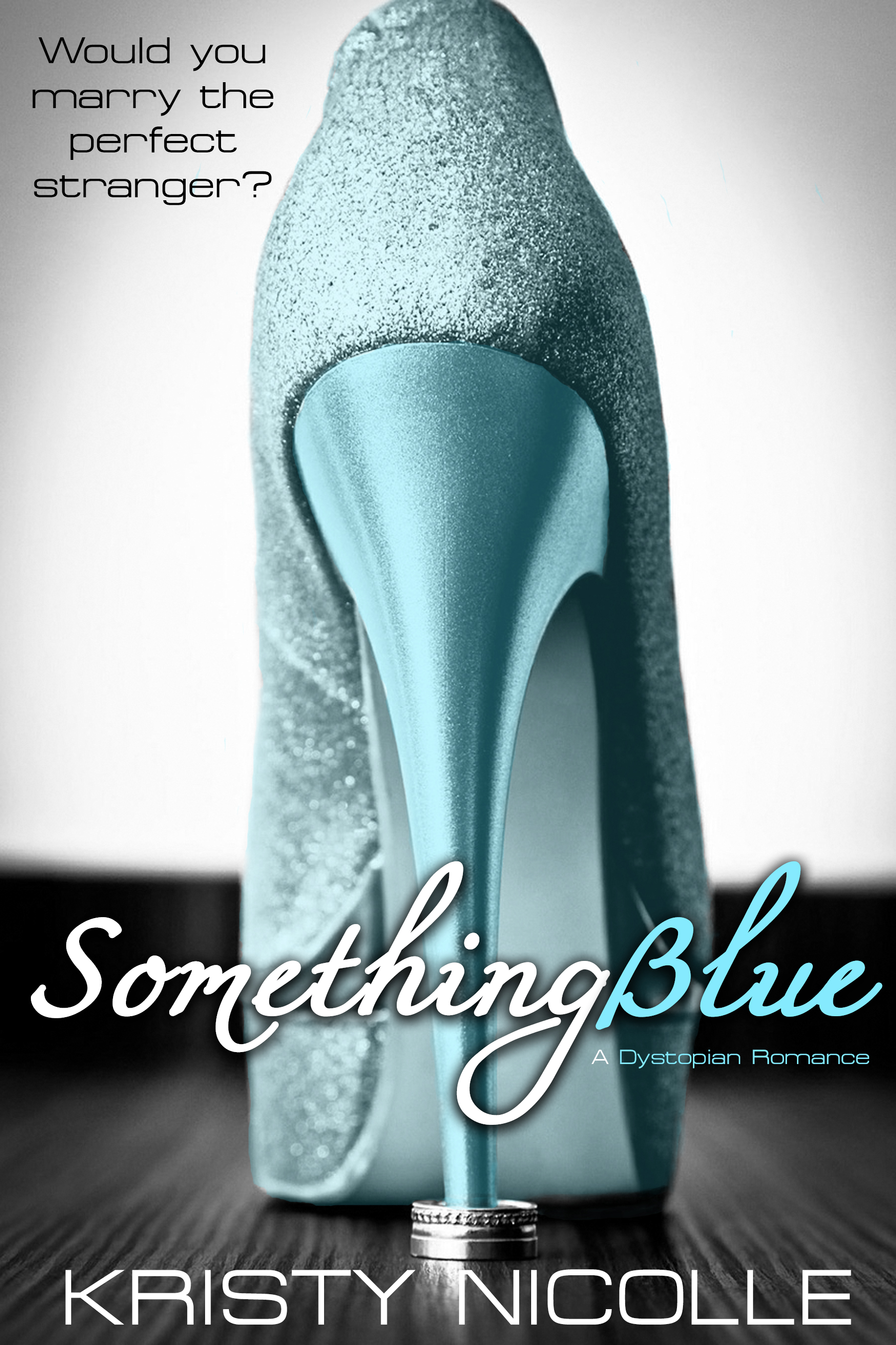 Something Blue- A Dystopian Romance - SYNOPSISIn the city of Monopolis where happily ever after is just a scientific formula away, Valentine Morland has been waiting nine years for her day to come. Now it's here, and she will marry the man of her dreams, a stranger to her, before being swept off to life of carefree luxury and bliss, courtesy of the Jigsaw Project. However, all is not as Valentine imagined as her new husband is quickly discovered as not the man of her dreams, but one who claims he isn't capable of love at all. Harbouring an intense paranoia for the system, which upholds the very idealist fantasy that Valentine holds so dear, Clark threatens to throw her into a world, not of bliss, but of scary consequence where her every emotion is under scrutiny. Can it be that the scientific formula with a 99% success rate got it all wrong, or is everything in the world of Bliss Inc. more sinister than it seems?