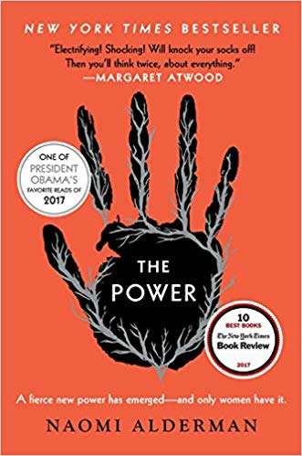 The Power- Naomi Alderman- recommended by Kristy Nicolle