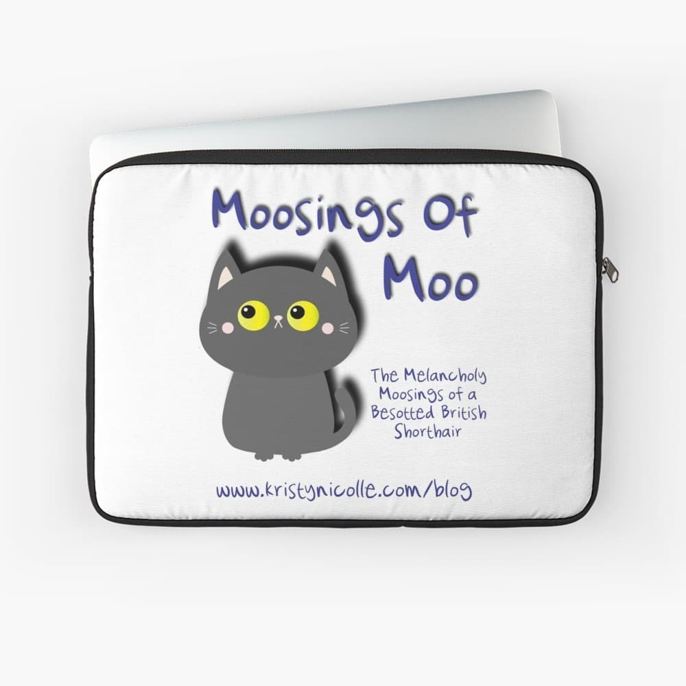 Moosings of Moo Laptop Sleeve