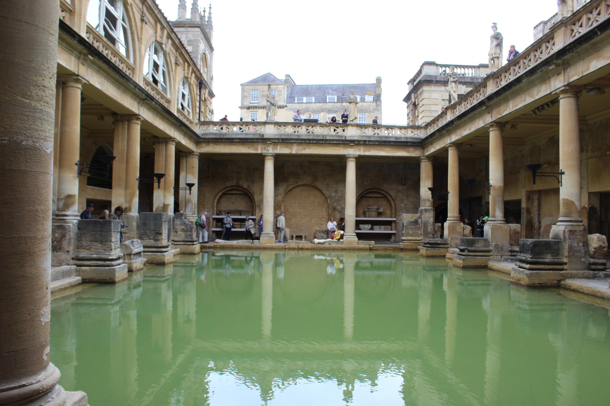 Kristy Nicolle Roman Baths- Bath, England