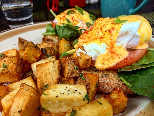 A brunch done right. How do you like your Benedict?