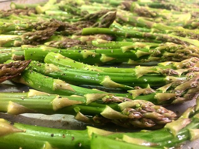 So long till next year asparagus! It was nice to have you around the first few weeks of Spring! :)