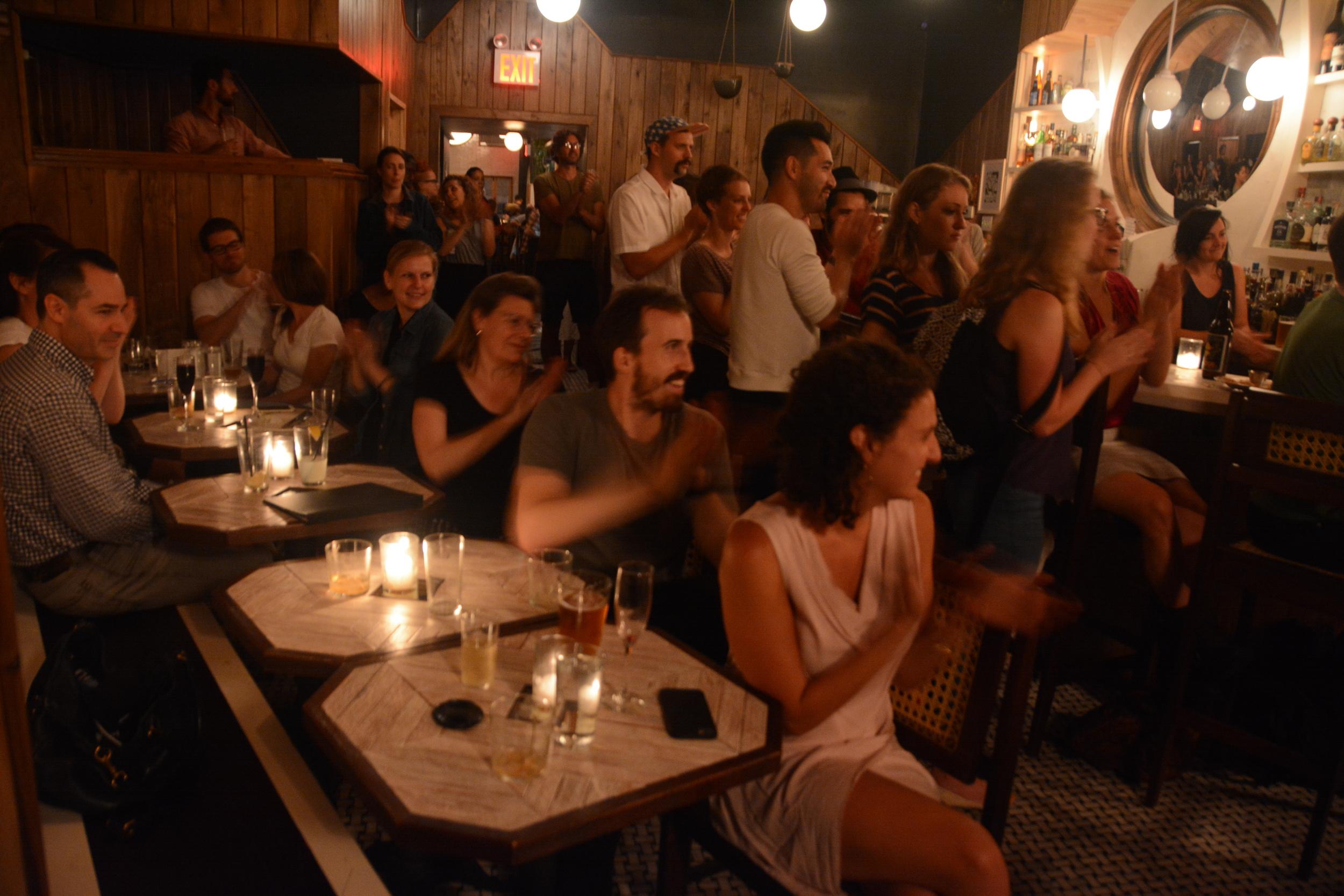 That crowd!, July '15
