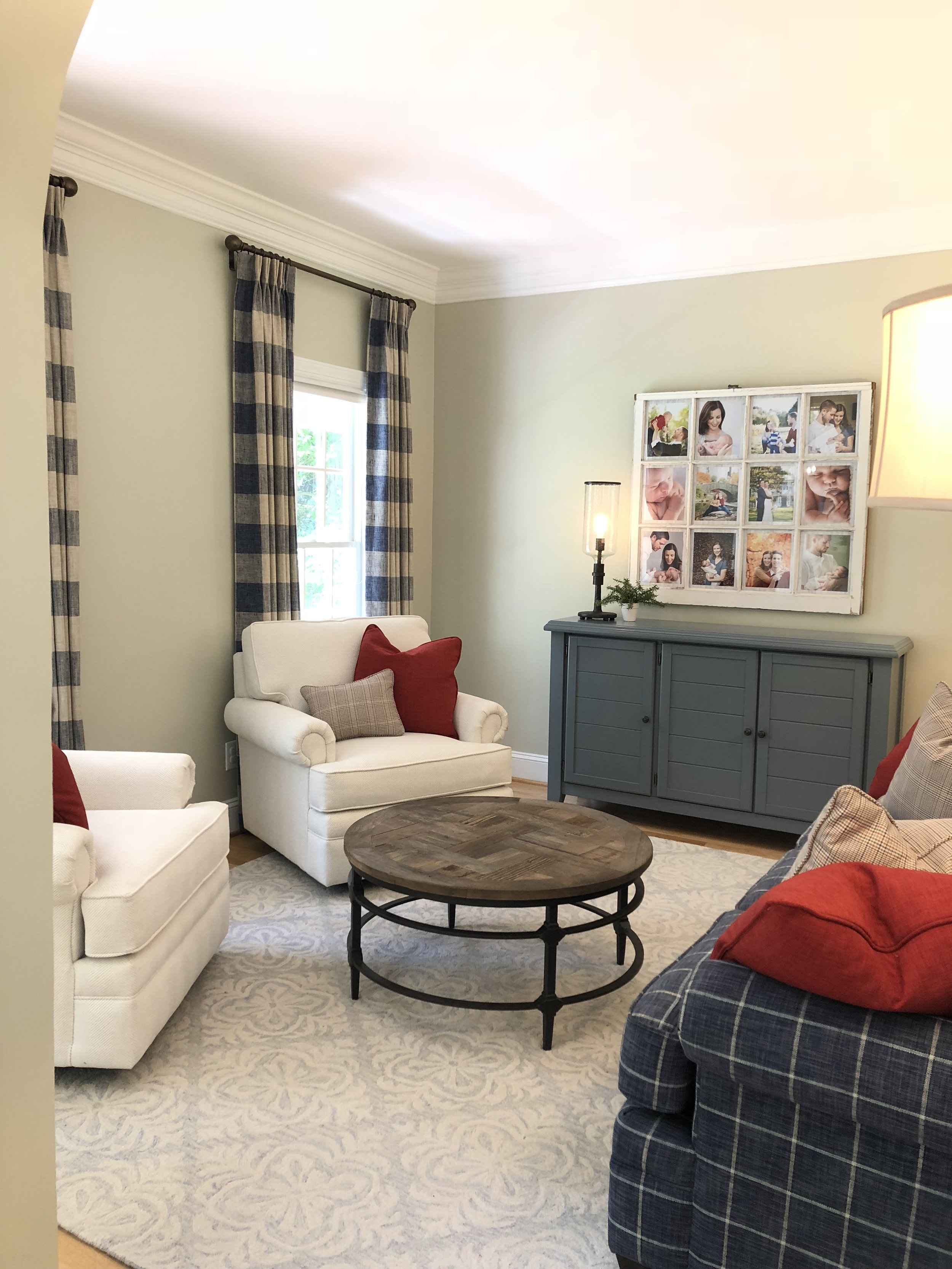 Red, White & Blue Room
