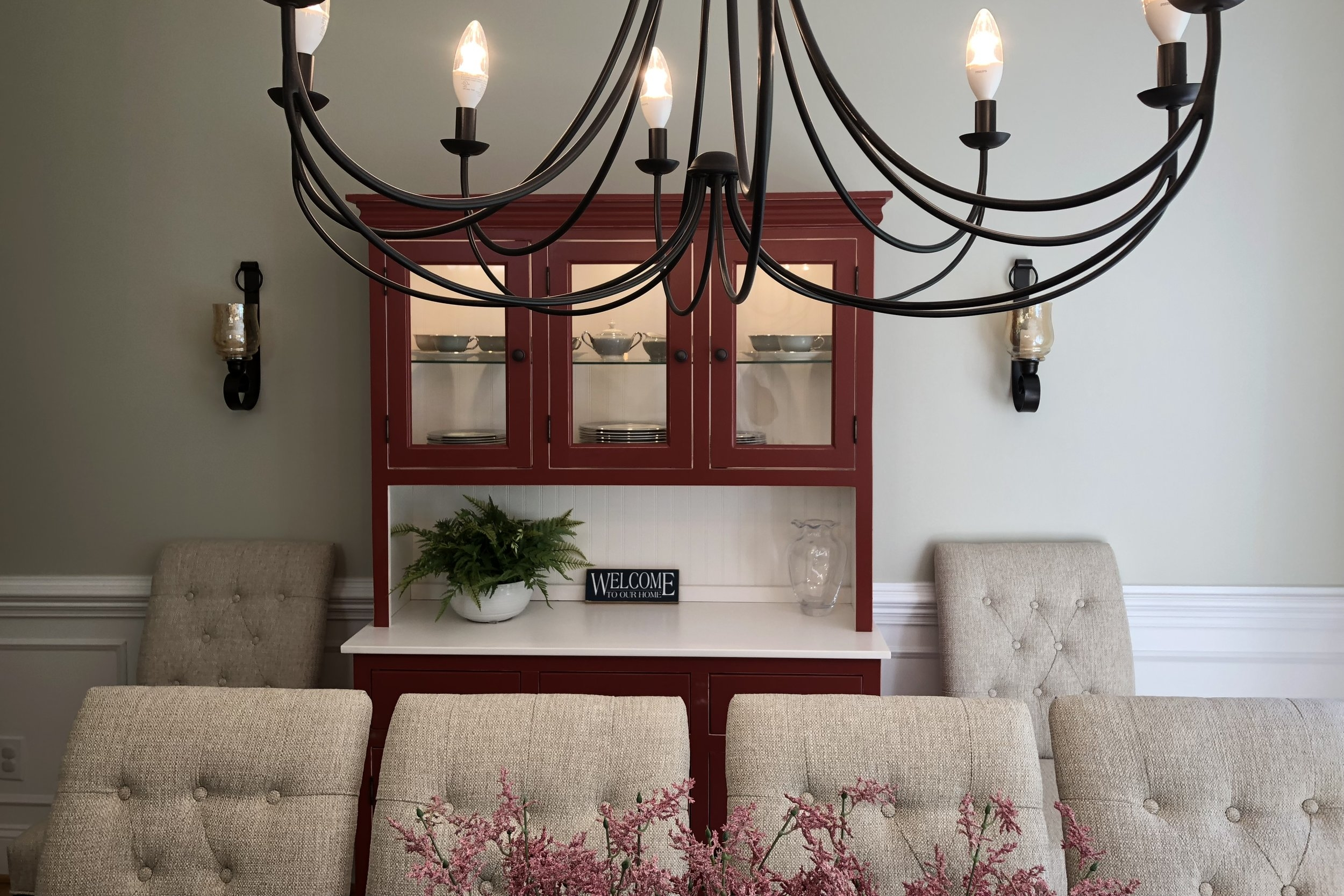 Red Hutch Dining Room Chapel Hill
