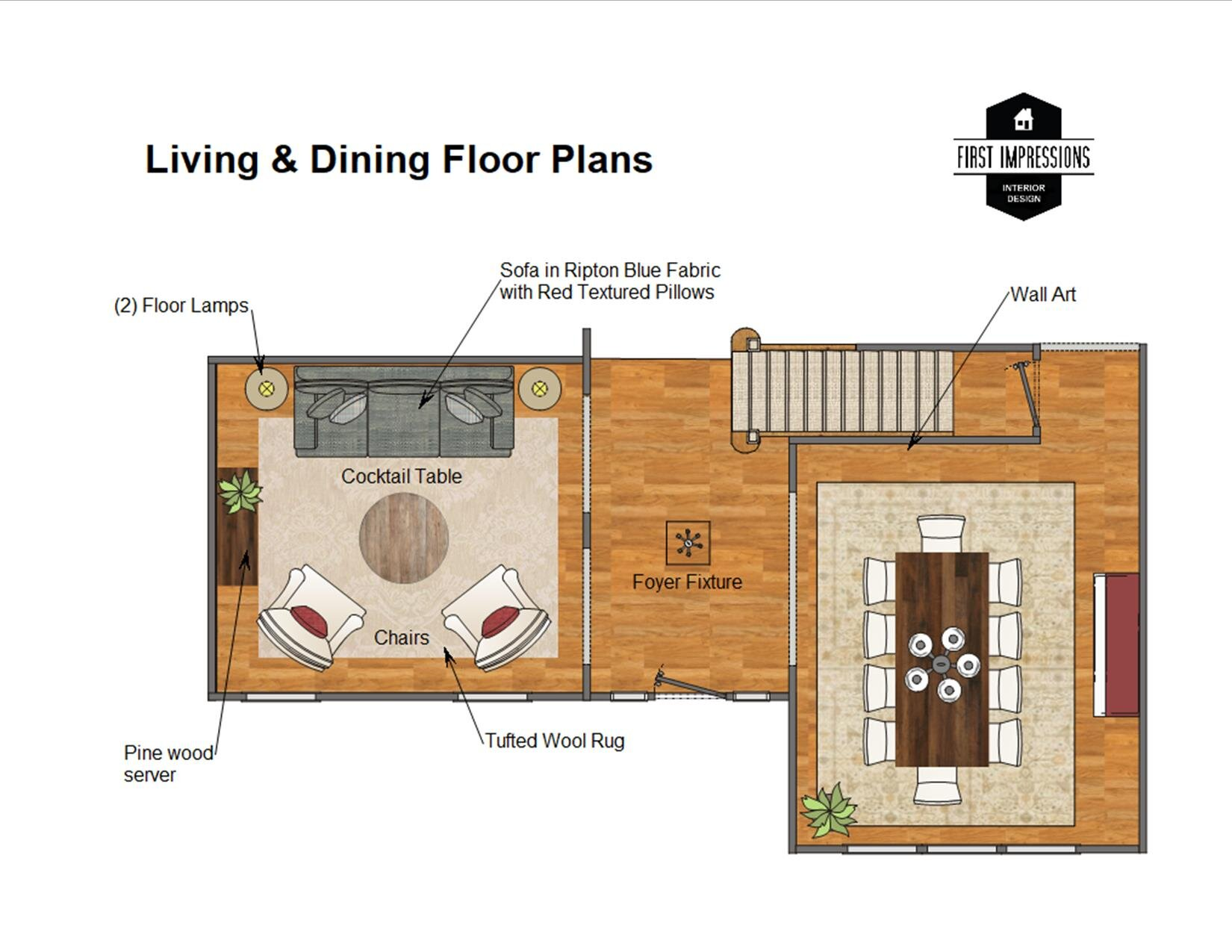 Home was measured and floor plan created to scale