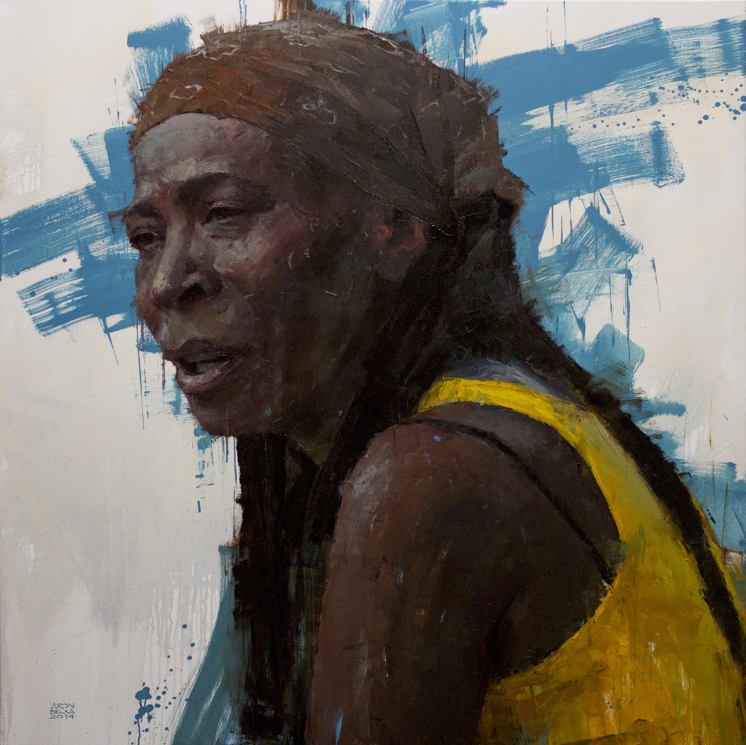 Rhythms     2014 48 x 48 inches oil on canvas