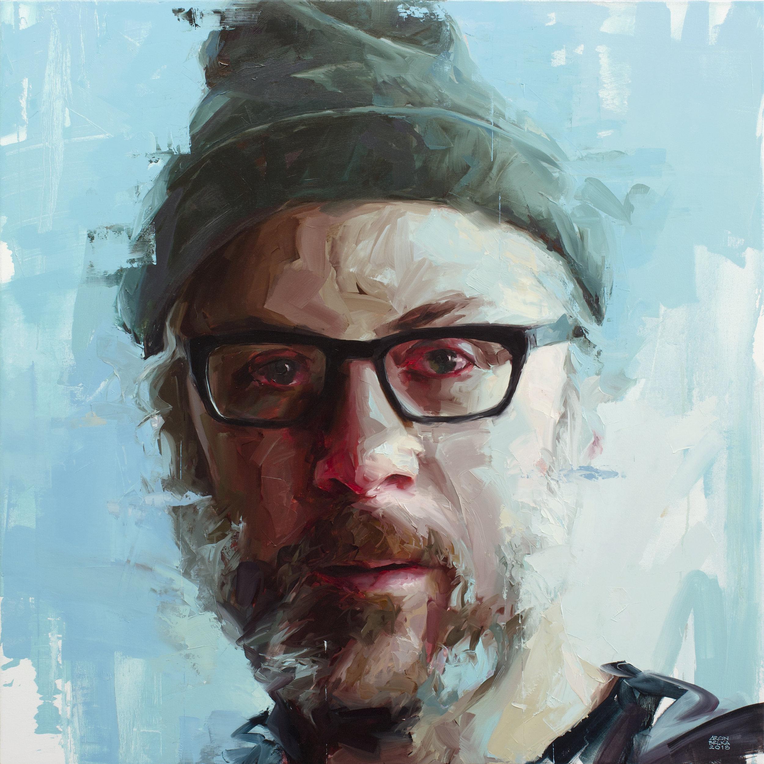 Blake Boyd   2018 48 x 48 inches   oil on canvas