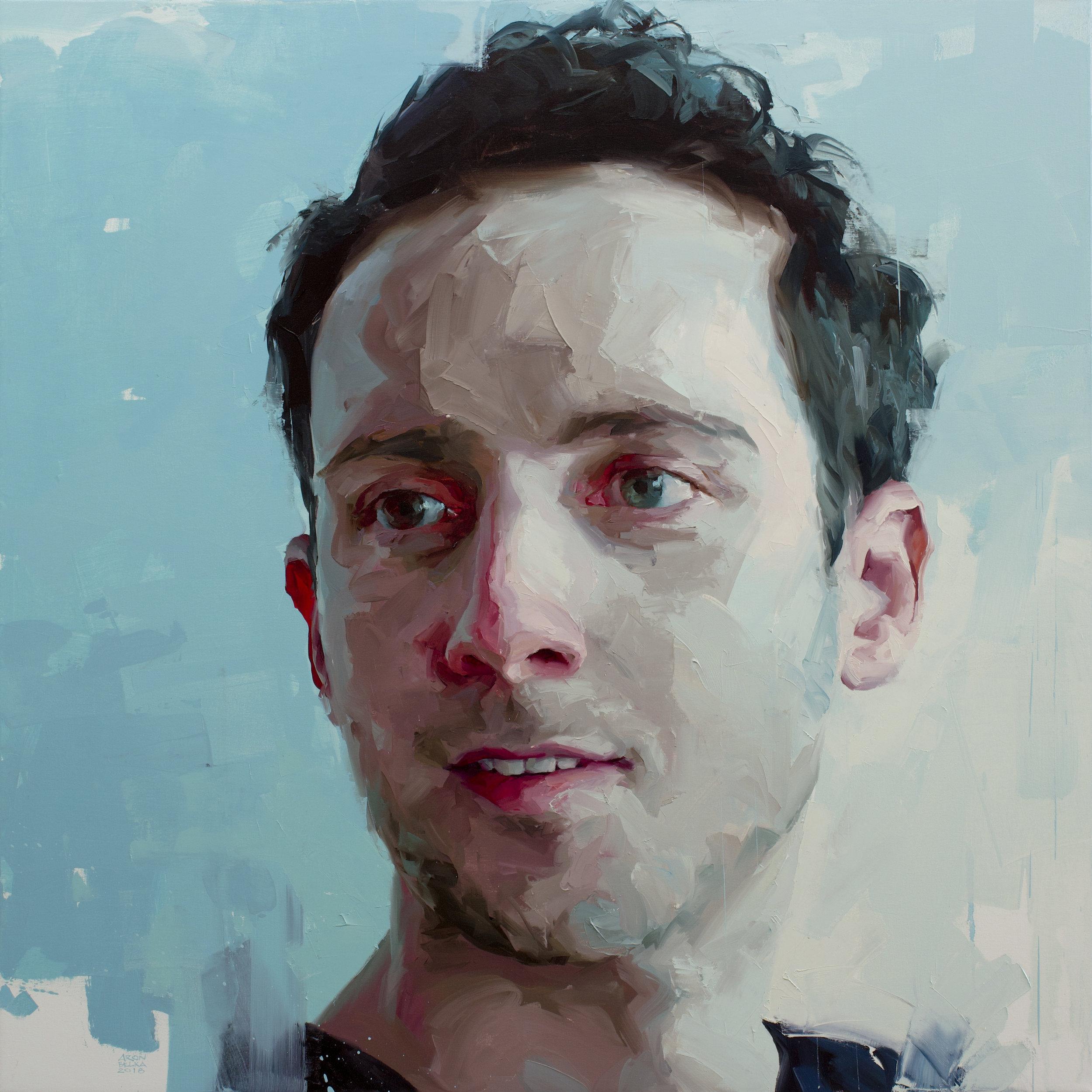 Joshua Edward Bennett   2018 48 x 48 inches   oil on canvas