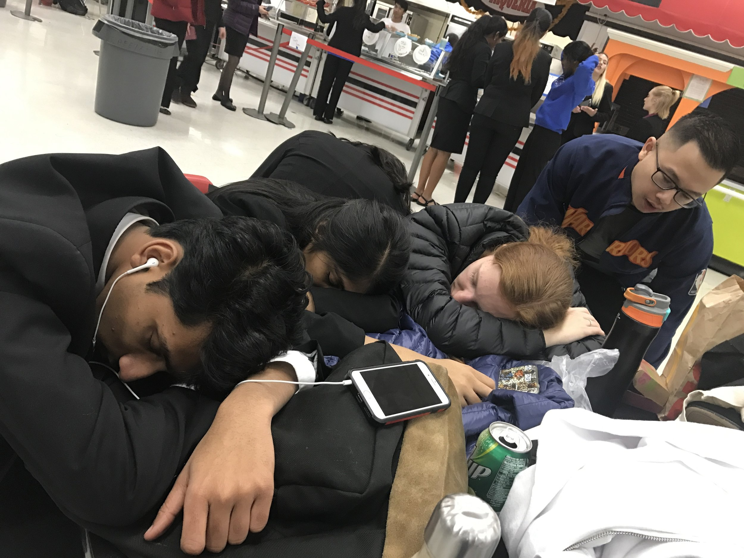 Mr. Cruz joining 3/Super 6 for a quick nap