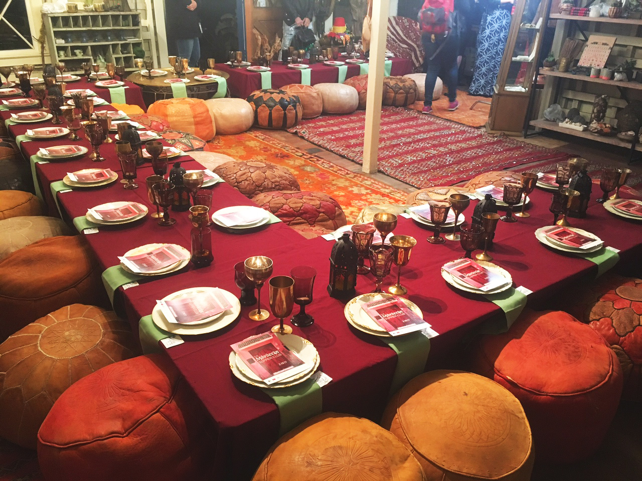 MOROCCAN SUPPER CLUB -
