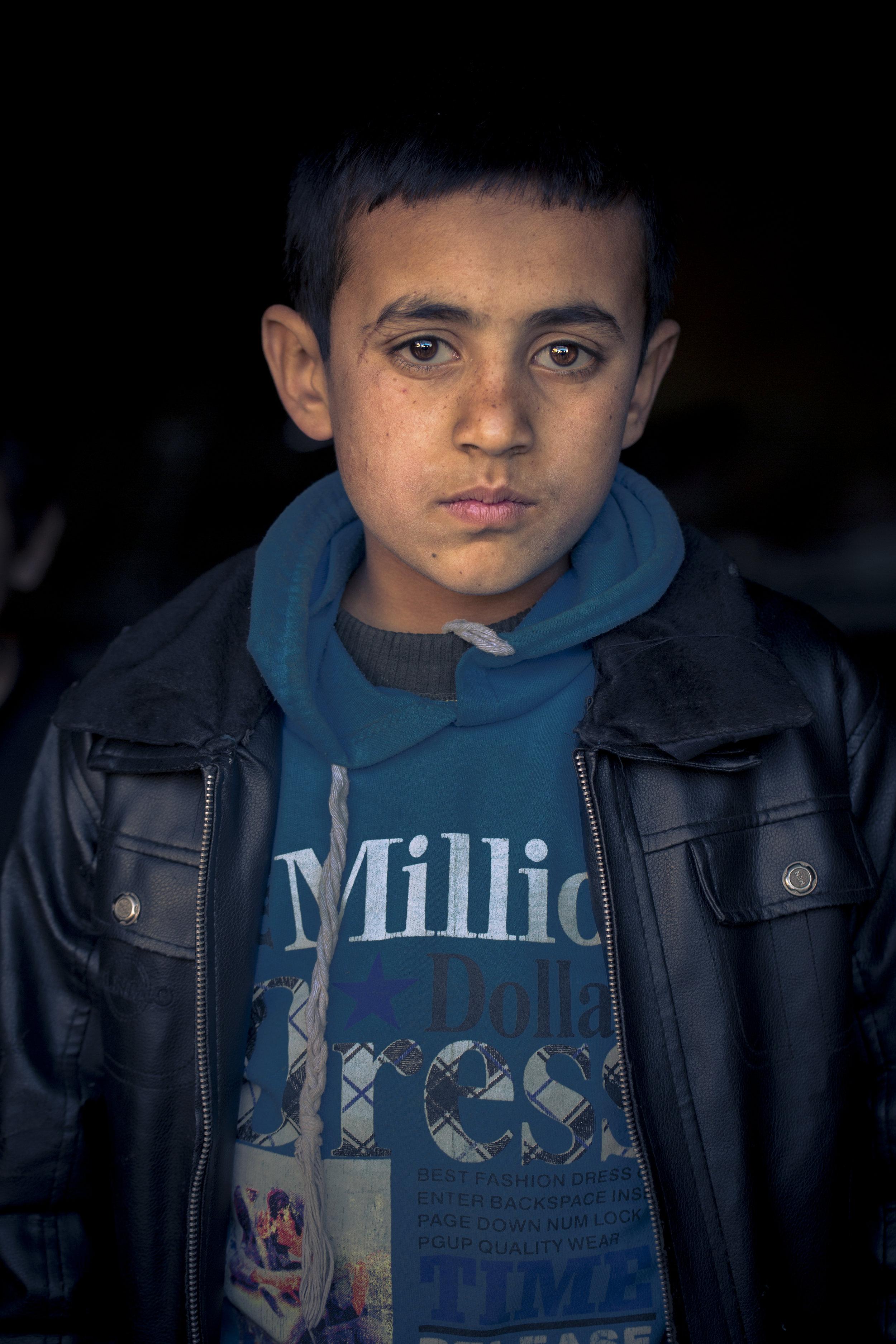 Hikmat at 13, 2014, Kabul, Afghanistan