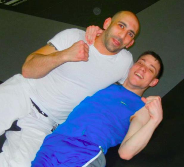 Ian and Nabih Barakat