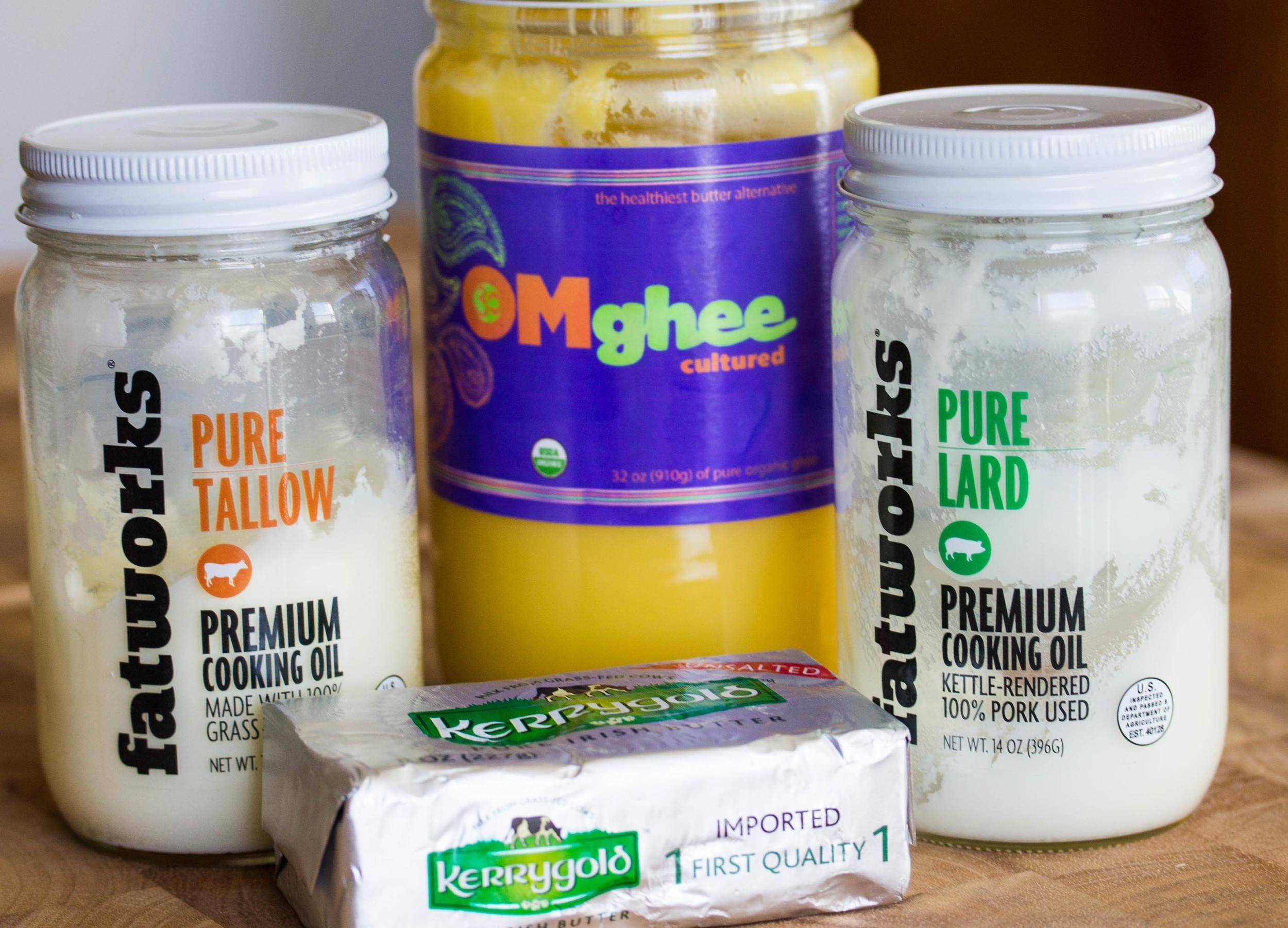 Animal Fats,   Grass-fed butter ,  Ghee