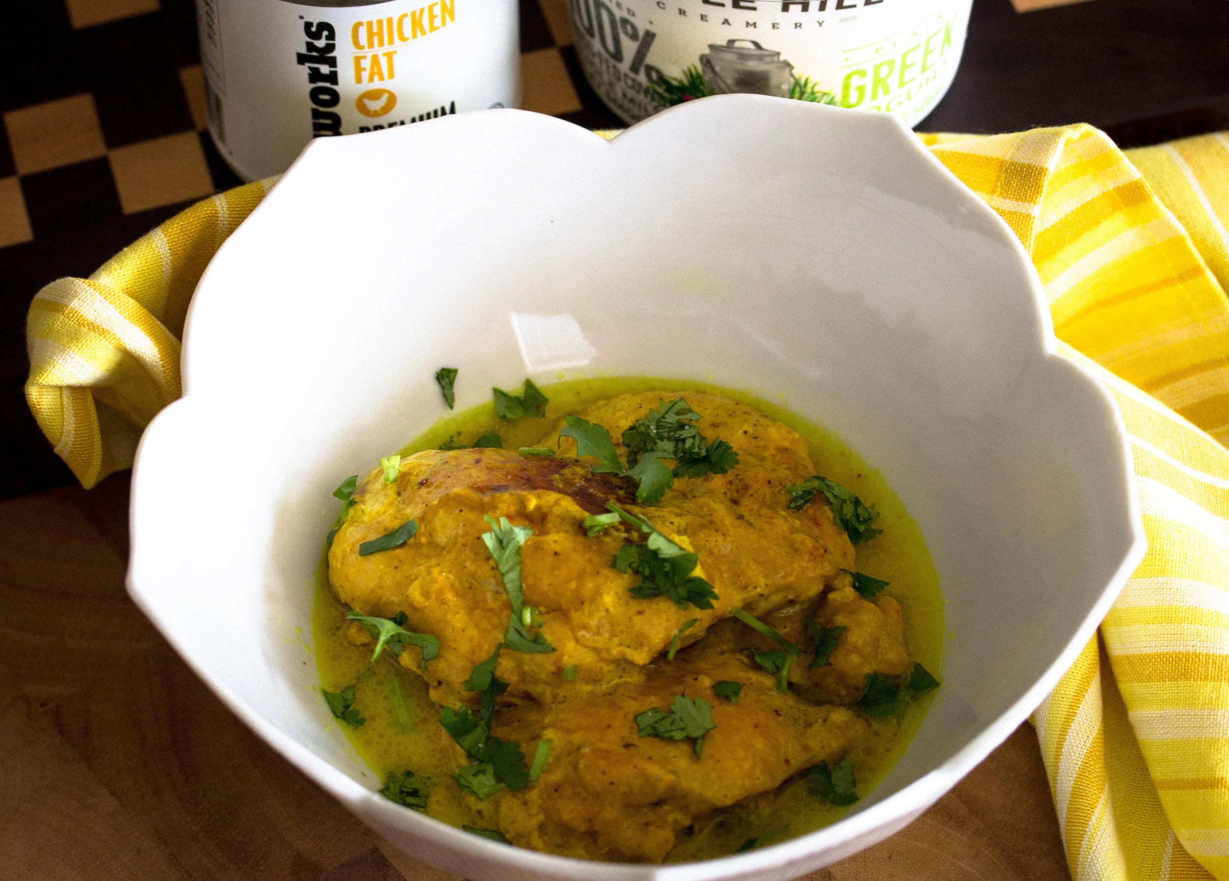 Turmeric & Yogurt Braised Chicken