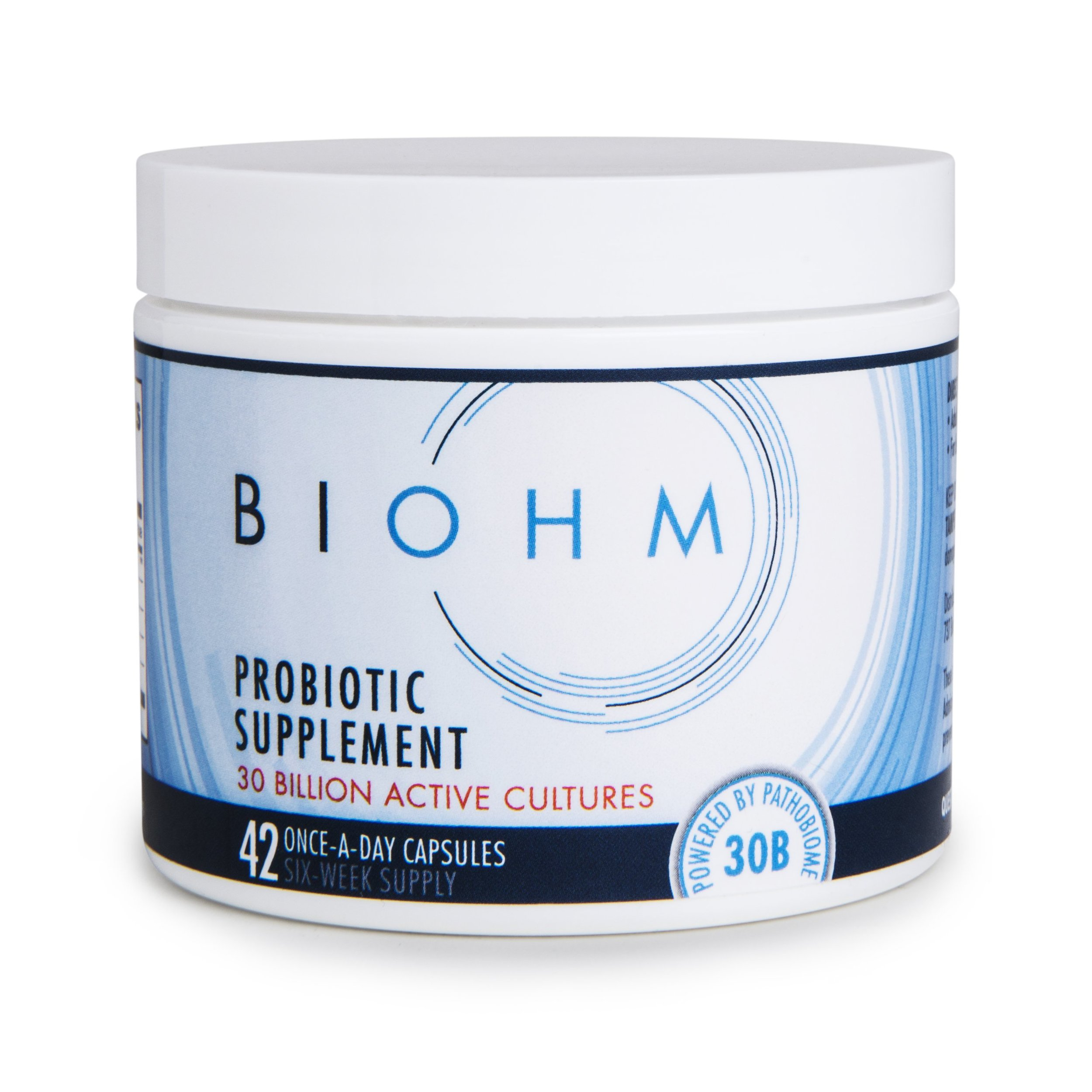 BIOHM  is my favorite probiotic supplement because not only do they contain bacteria and fungi, but also an enzyme to help break down biofilms, or digestive plaque, that may be inhibiting optimal gut health. Use code Carley20 for a special discount when you order!