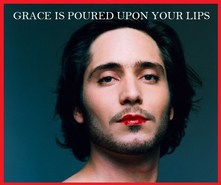 Your lips have been coated with courage to call forth great things