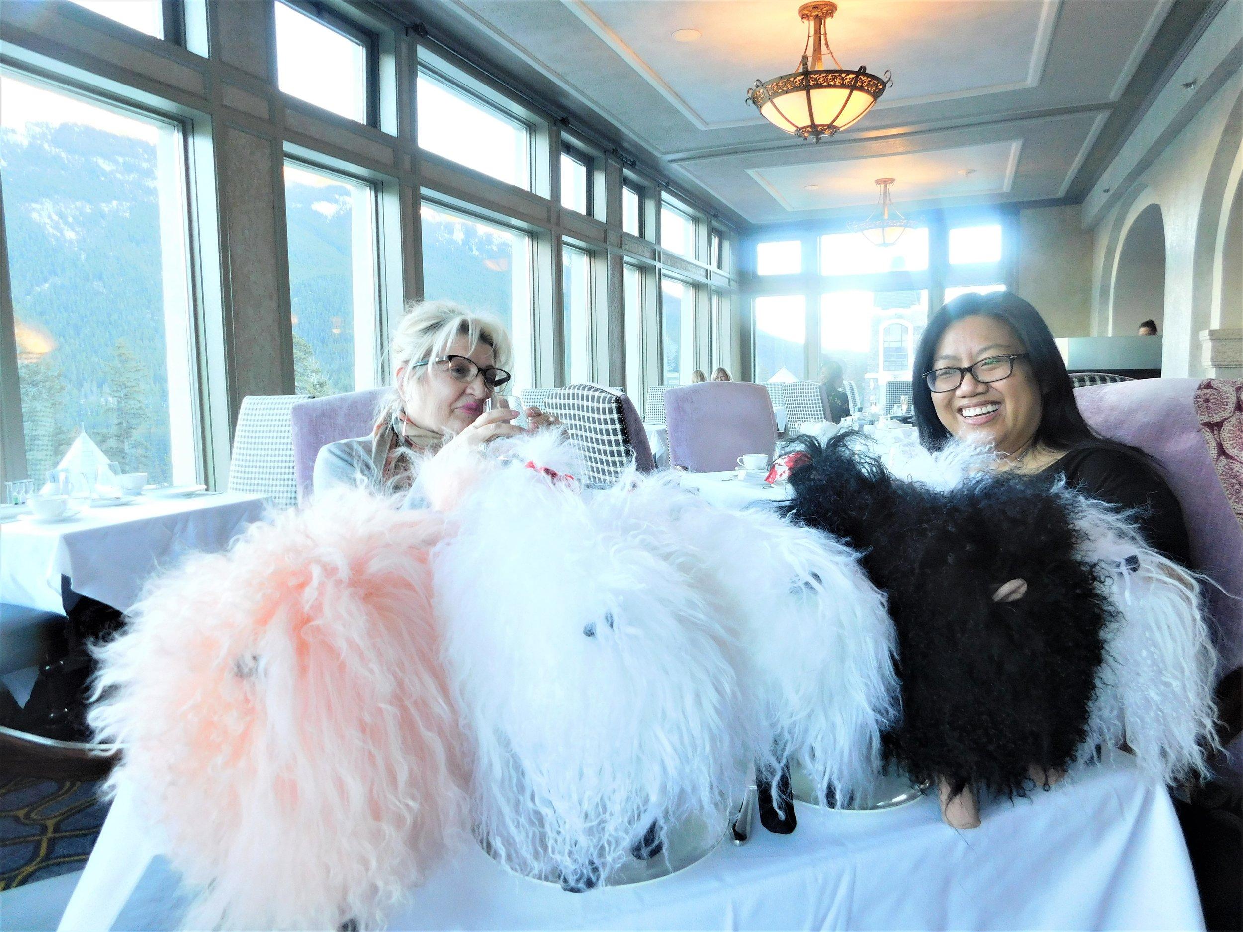 Love's Pure Light Luxury little lambs took over the High Tea