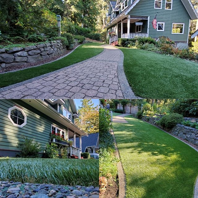 Our DuPont Landscape Grass looks like the real thing! Backed with a 10 Year warranty and the ability to never have to mow, fertilize or water again, why wouldn't you choose it?
