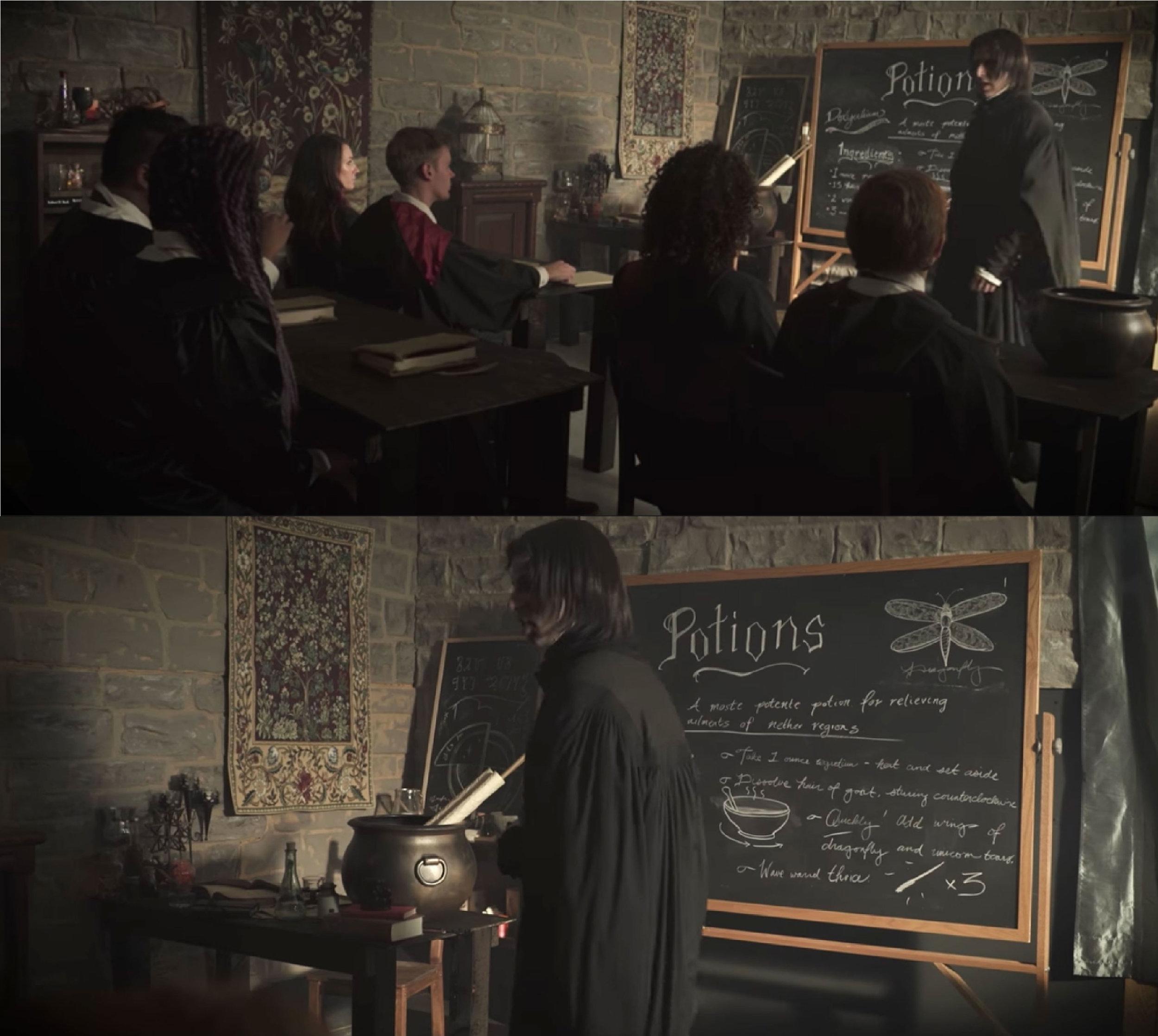 "BuzzFeed: ""If Hogwarts Taught Sex Ed."" • 2016   production designer"
