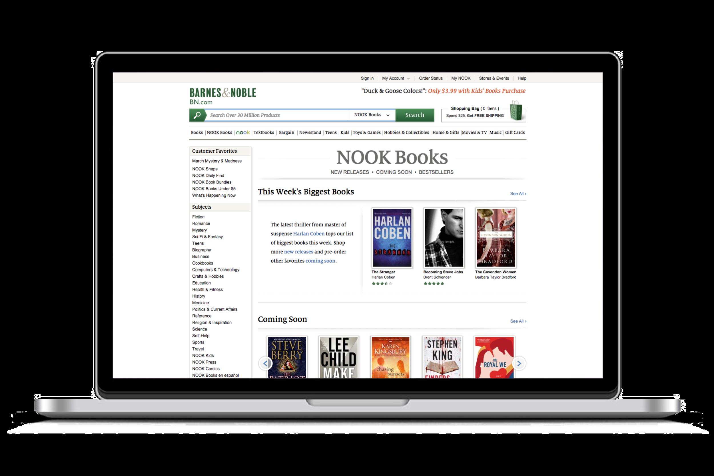NOOK Books — eBooks Storefront