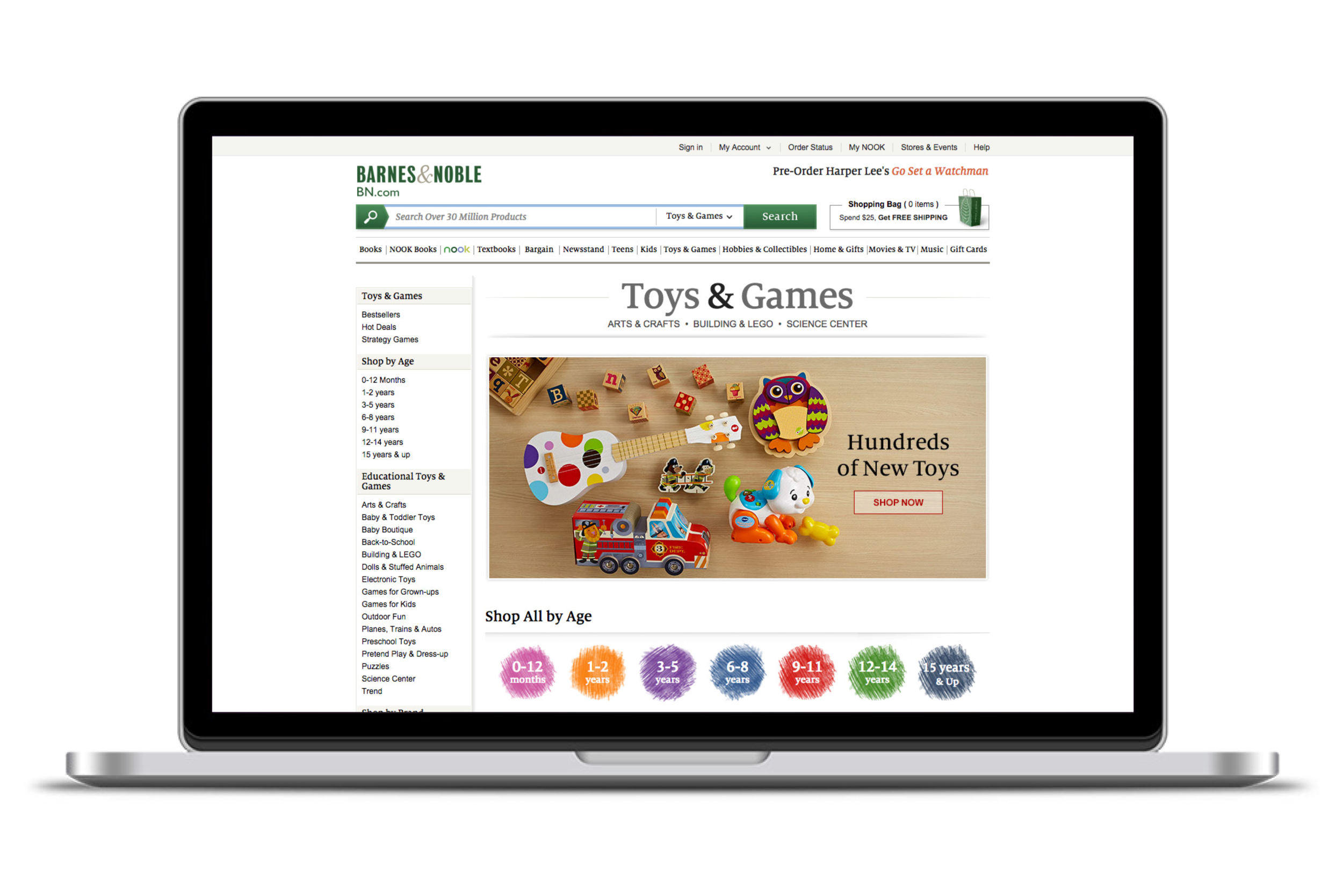 BN Toys & Games Storefront