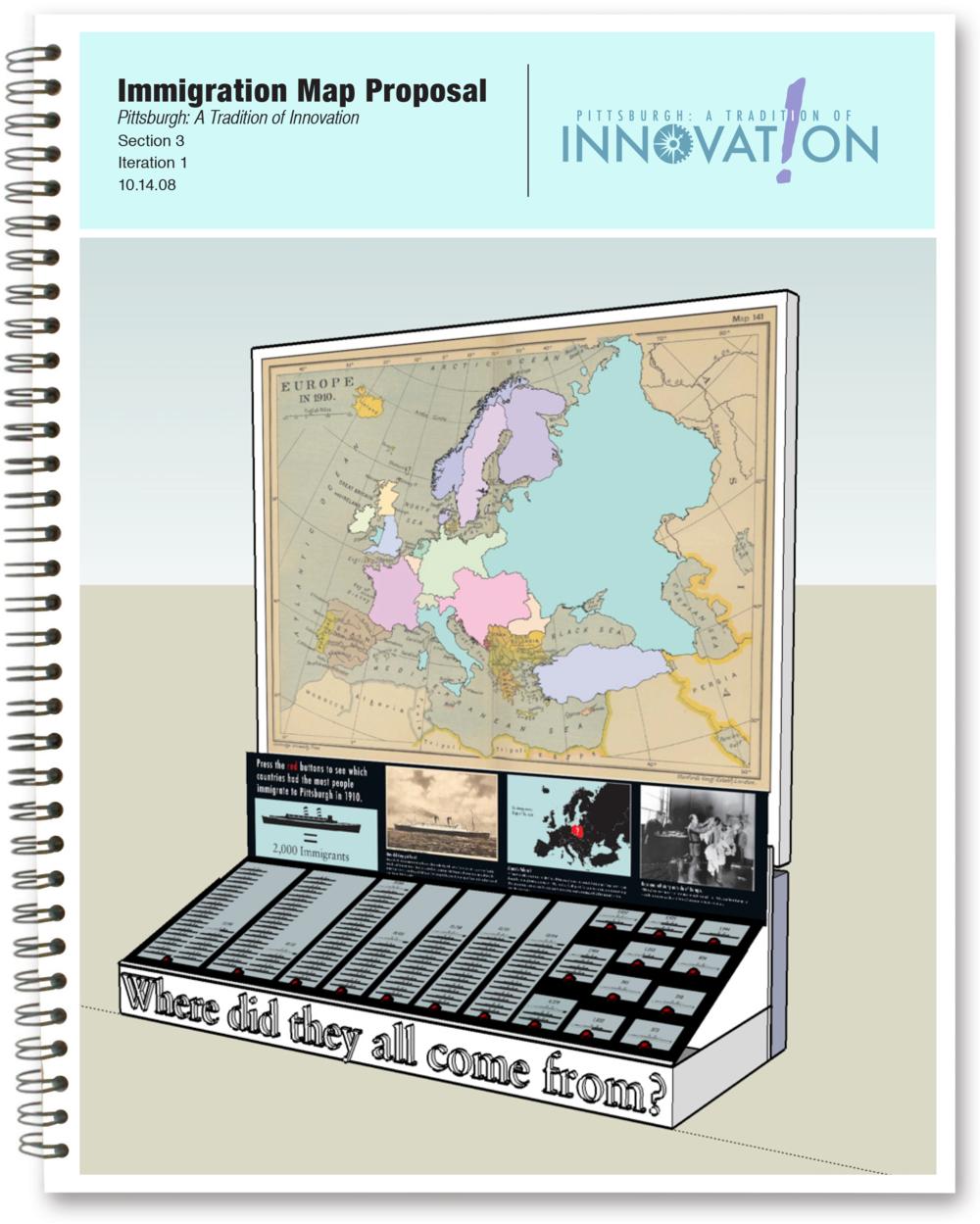 Immigration Exhibit Interactive