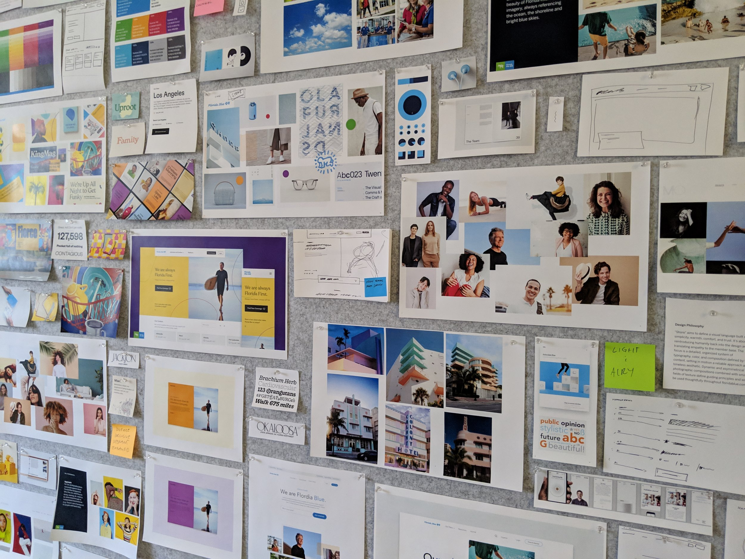 Visual Inspiration Wall