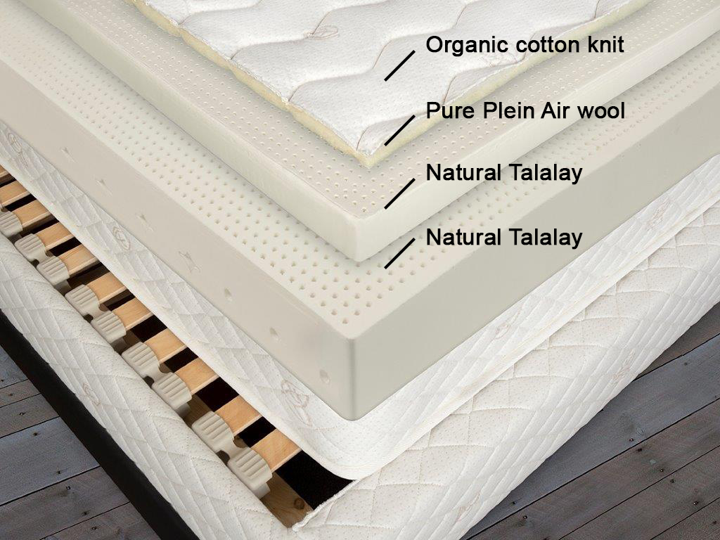 natural talalay latex mattress