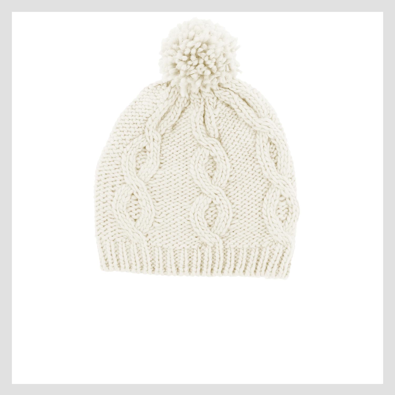 428-42273 Hat, Cream White