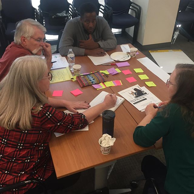 """In Great Meetings training we learn and practice the essential building blocks for engaging and efficient meetings: priming, purpose, agendas, venue, closing. And also explore questions like """"when should I cancel a meeting that isn't set up for success?"""", """"how do I create a worthy agenda on the spot?"""" #facilitation #greatmeetings thanks @priyaparker"""