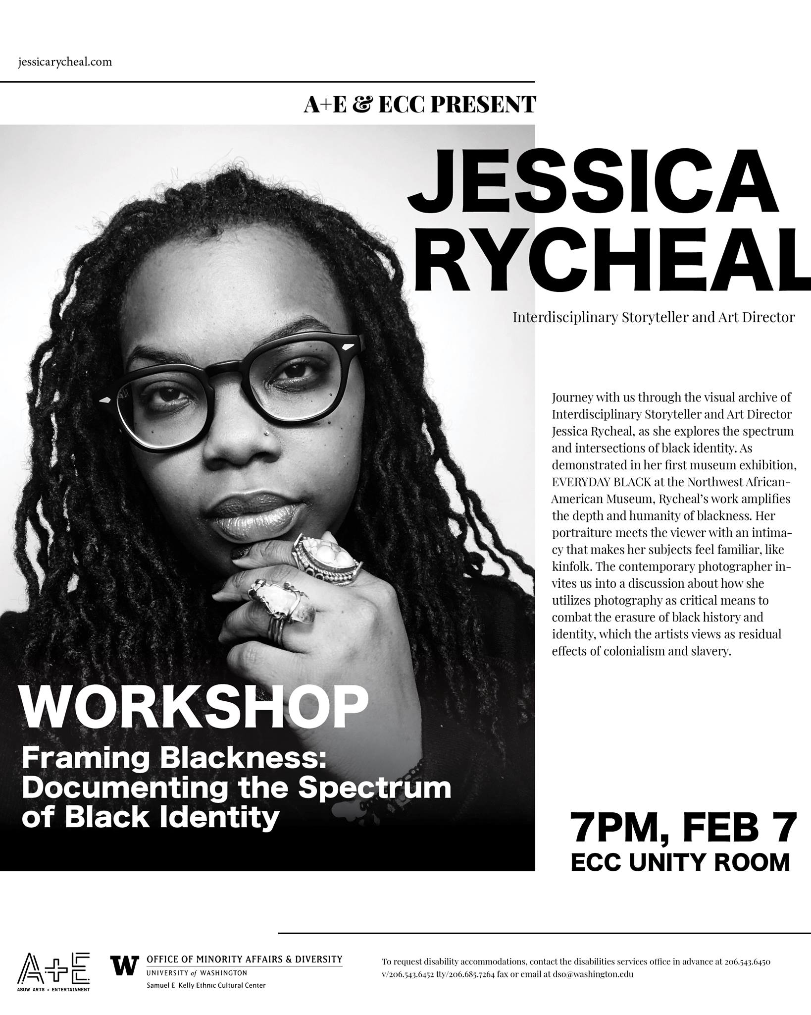 jessica rycheal university of washington framing blackness