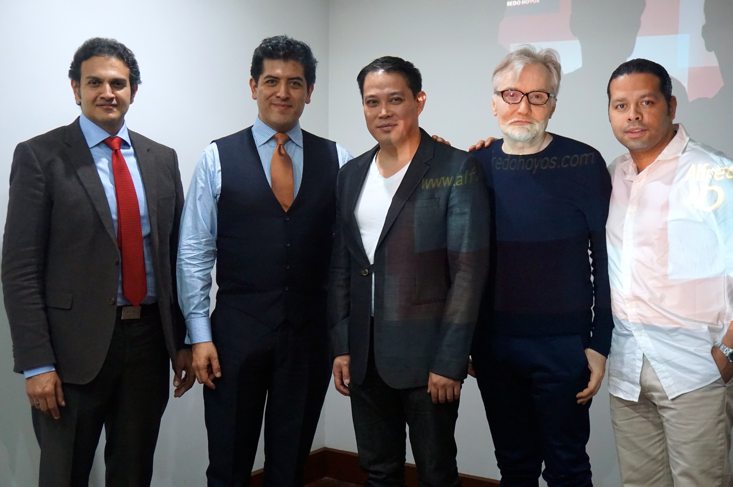 Plastic Surgeons from all over the world who perform the 4D VASER Hi-Def Liposculpture. From left to right: Dr. Tahseen of Egypt;Dr. Alfredo Hoyos of Colombia;Dr. De La Cruz of Houston, TX; Dr. Planinsek of Slovenia; and Dr. Acuna of Spain.