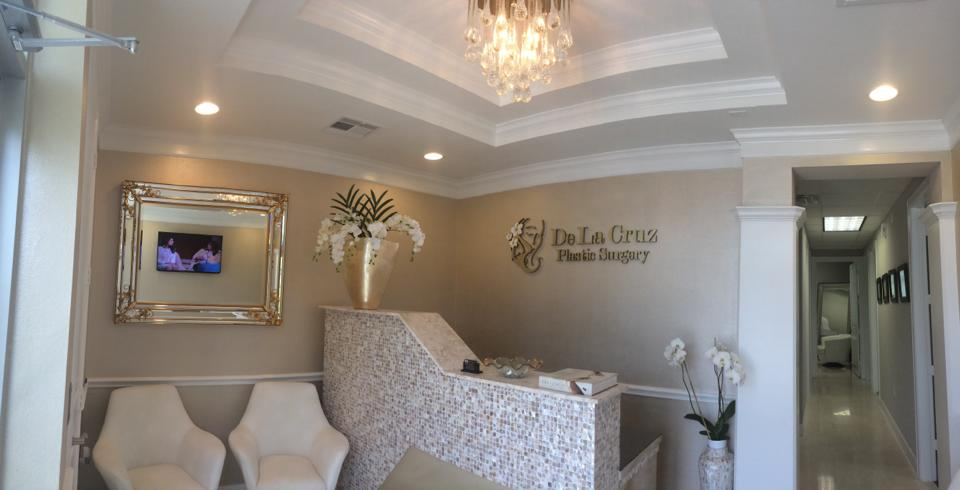 De La Cruz Plastic Surgery Clinic Reception Area