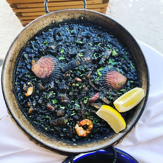 This black paella. Was. So. Good.