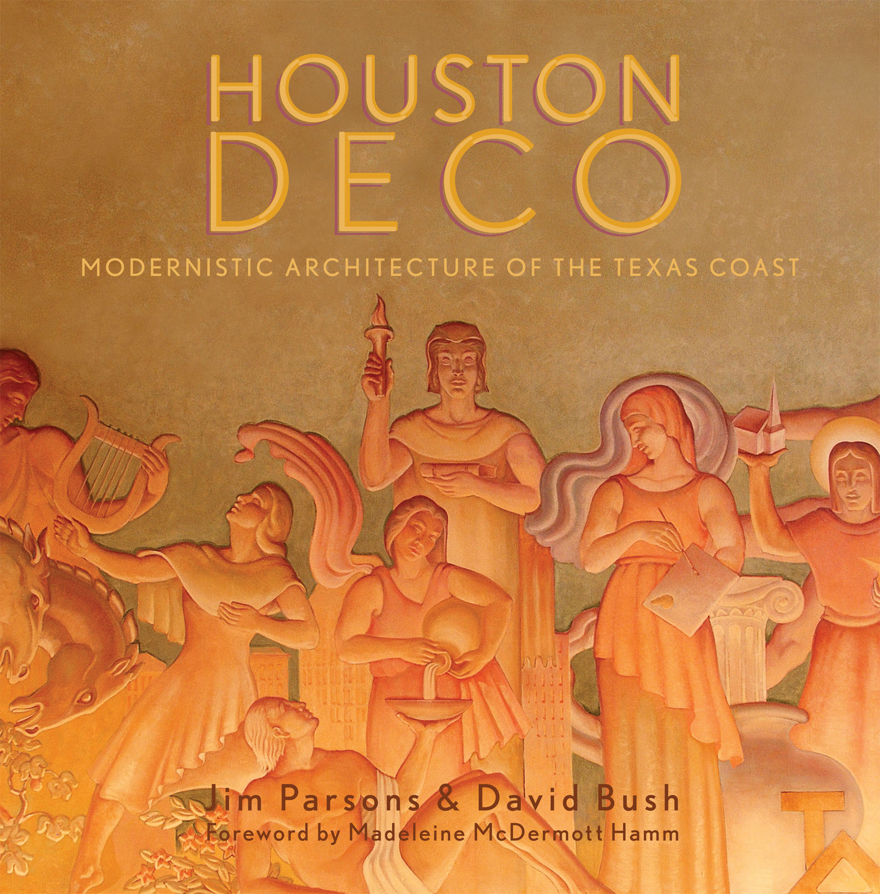 Our advocacy effort on behalf of iconic Art Deco buildings led to the publication of PH's book  Houston Deco , the first extensive examination of modernistic architecture in the Houston area.