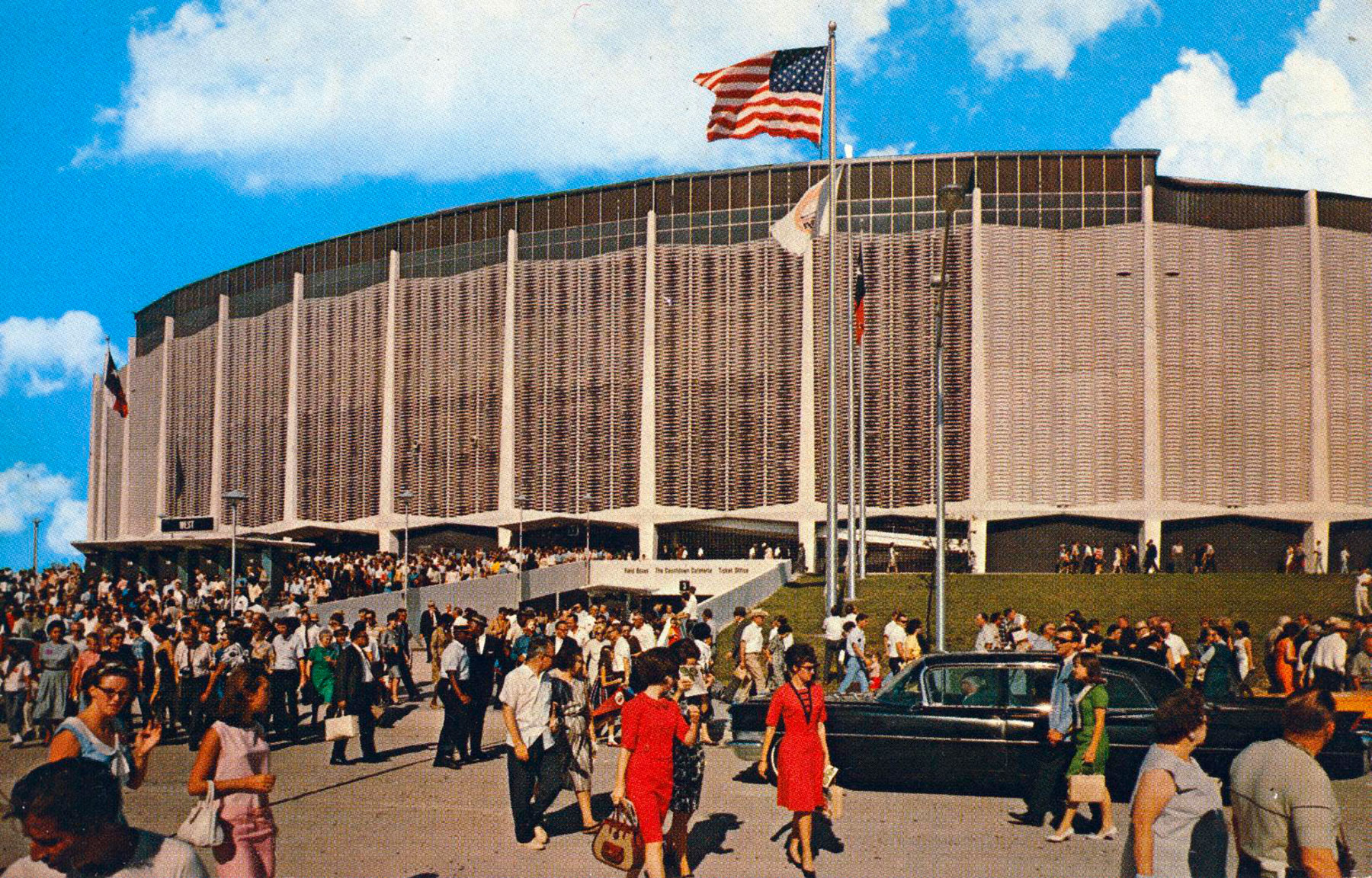 Harris County Domed Stadium (The Astrodome), 1960s /  Preservation Houston file