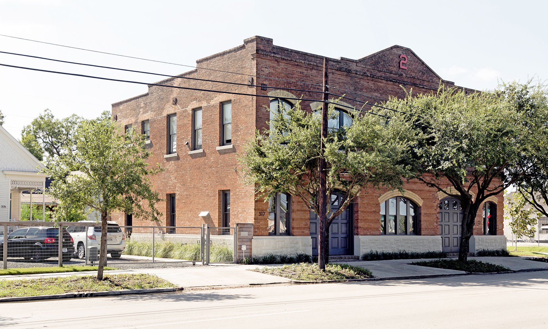 Anne Whitlock & Michael Skelly for the rehabilitation and adaptive re-use of Fire Station No. 2 (1910) in the East End /  photo by Jack Thompson