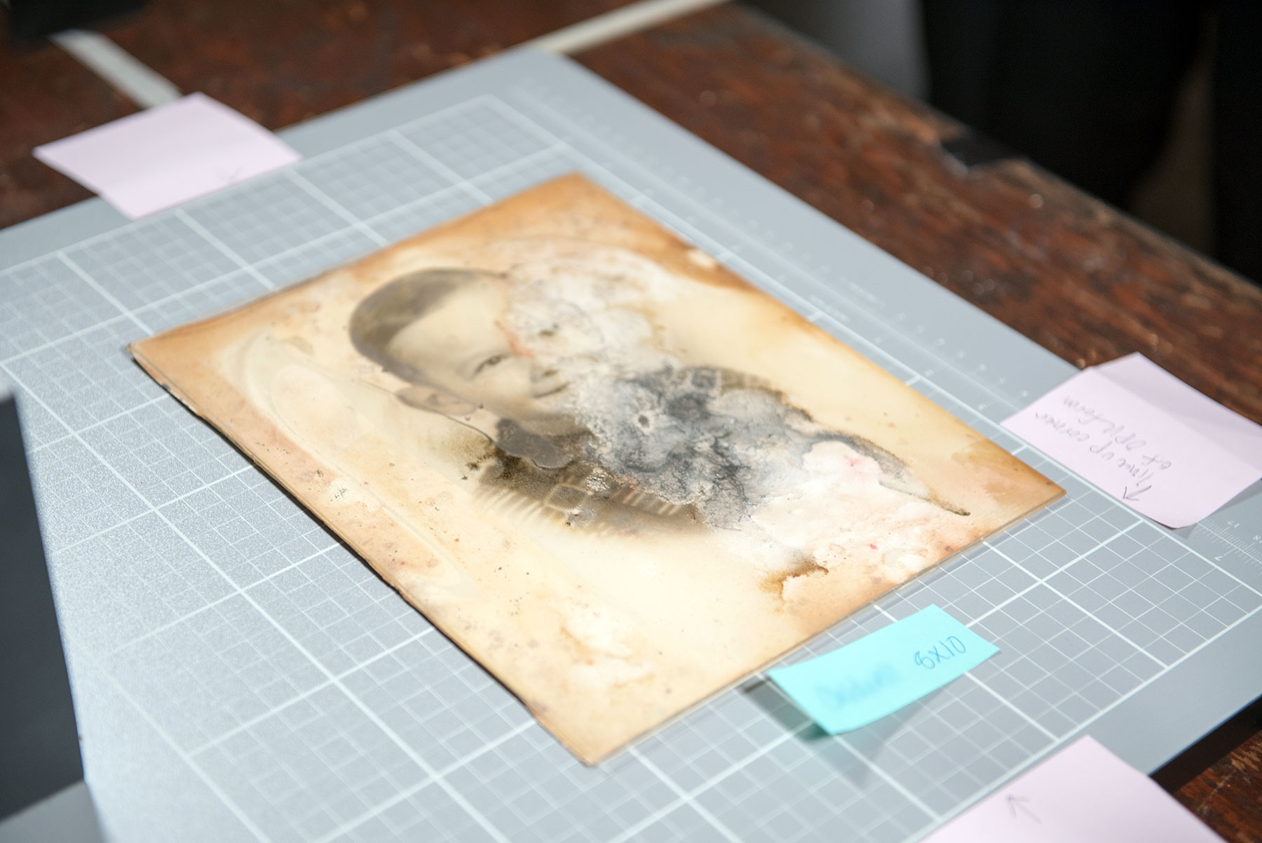 Operation Photo Rescue will restore hundreds of photos damaged in Houston during Hurricane Harvey. /  photo by Jim Parsons