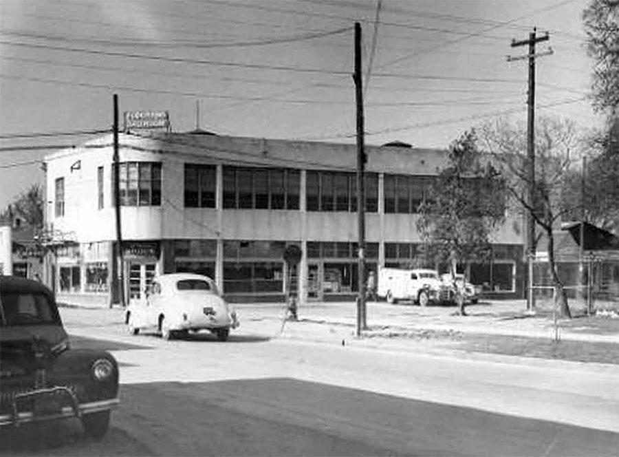 Eldorado Building, c. 1940 / photo courtesy of Project Row Houses