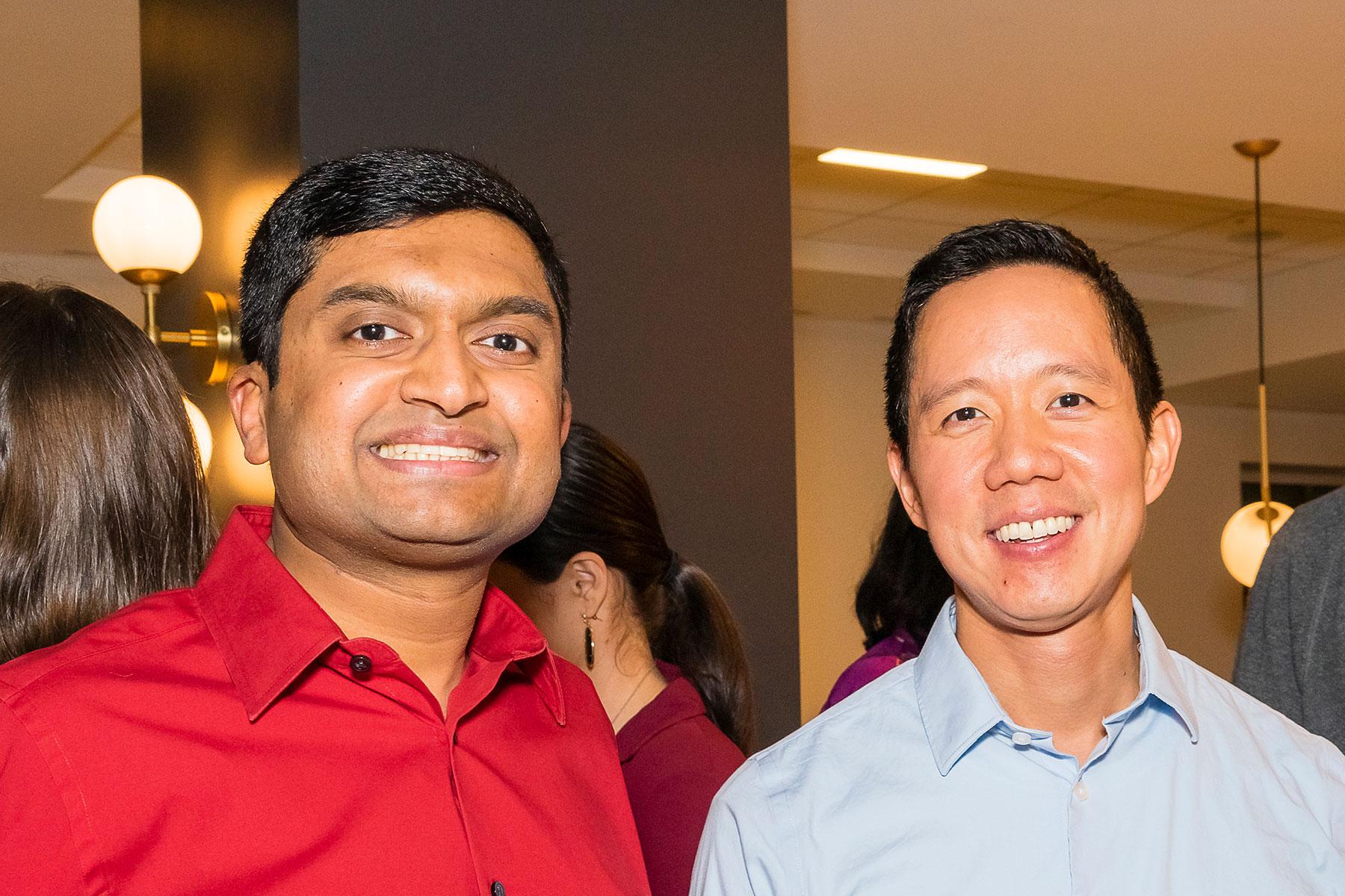 Revlon Fernandes, Richard Huang